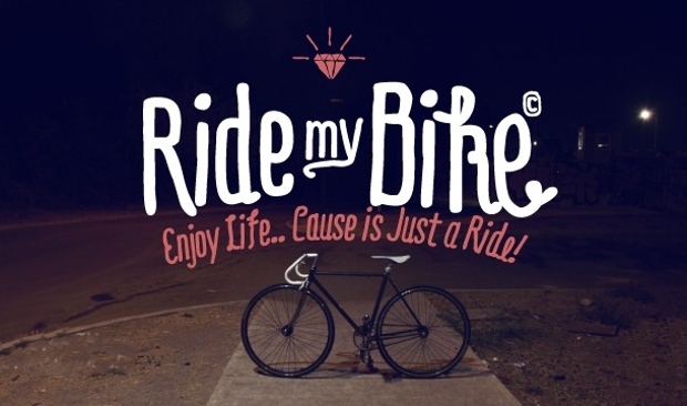 Ride my Bike Font