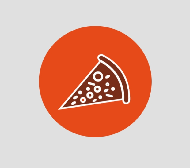 cheese meal pizza icon