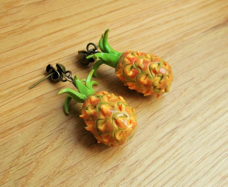 Tropical Fruit Earrings