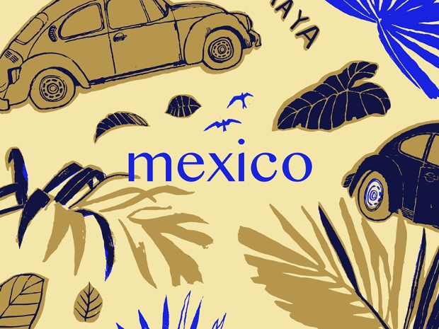 handmade mexican pattern