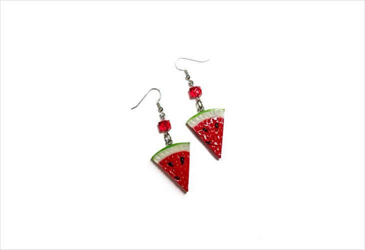 Fruit Slice Earrings