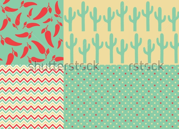 classic mexican pattern