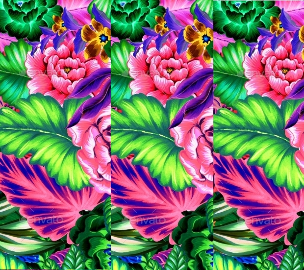 seamless floral mexican pattern