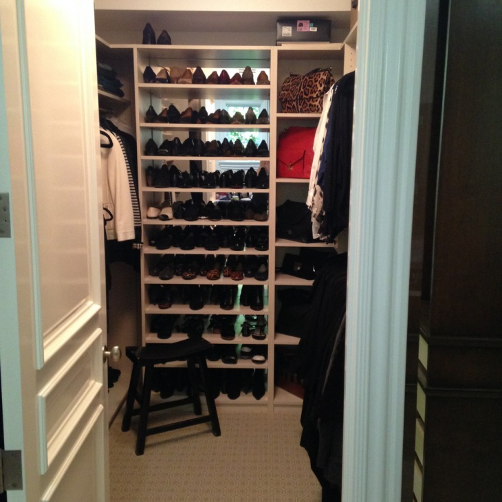 Modern Small Walk In Closet