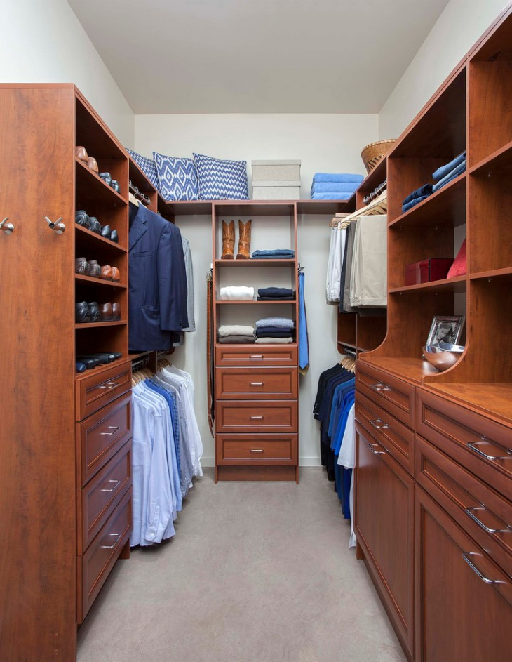 Small Attic Walk In Closet