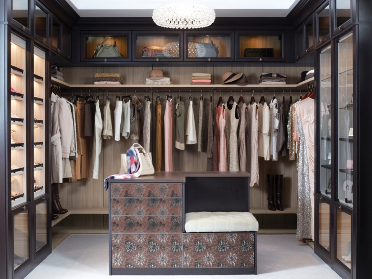 Small Master Walk In Closet Design