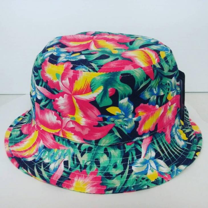Floral Bucket Hat Design