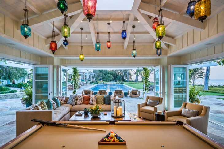 Sunroom Colorful Light Design
