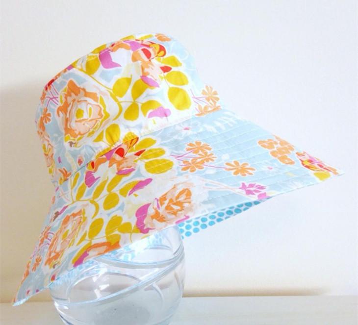 Cool Floral Print Hat