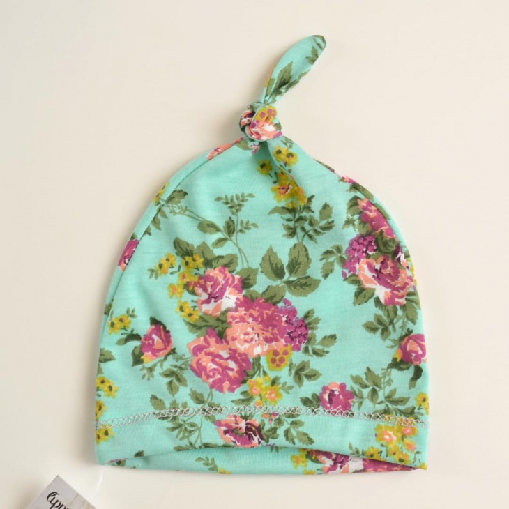 Pretty Floral Hat for Baby