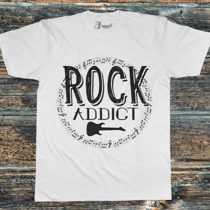 guitar music t shirt