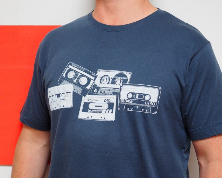 music tape t shirt