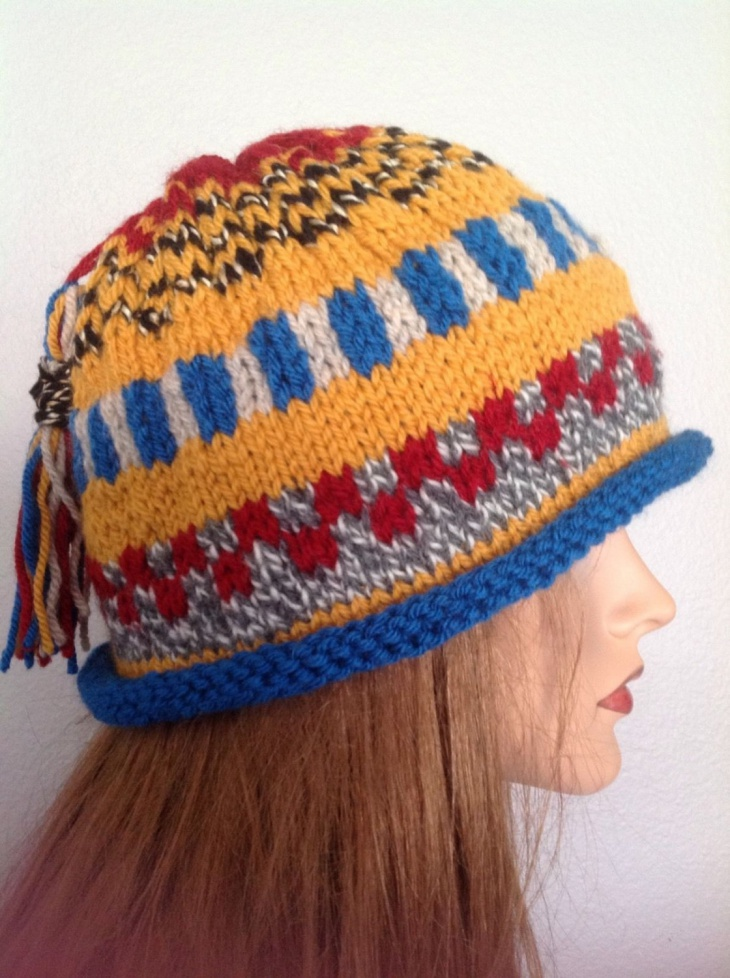 big fringe hat design