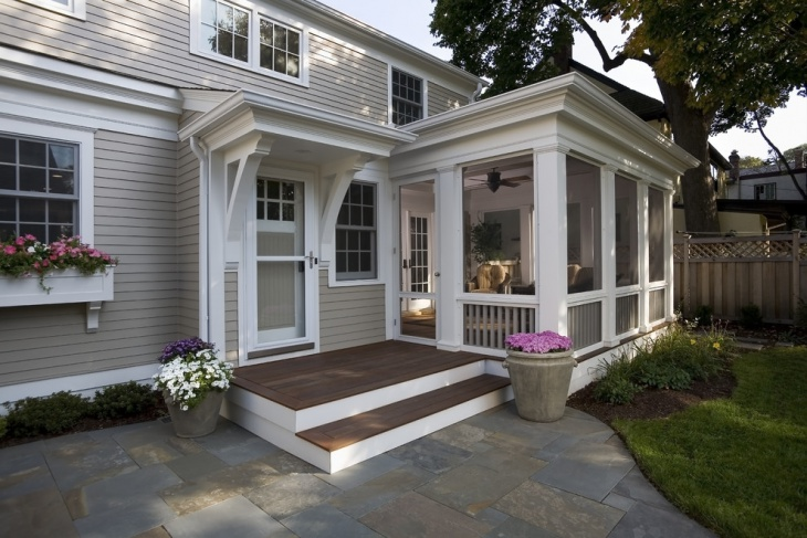 Cottage Screened Porch