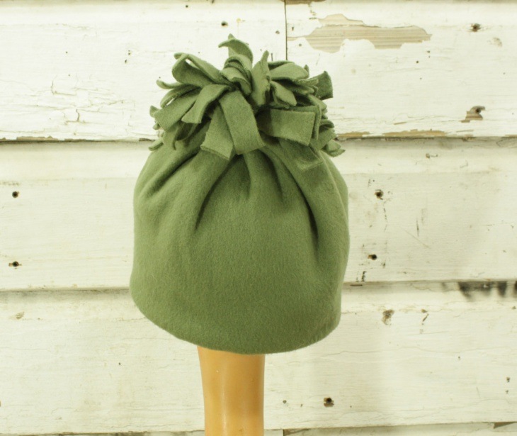 fleece fringe hat