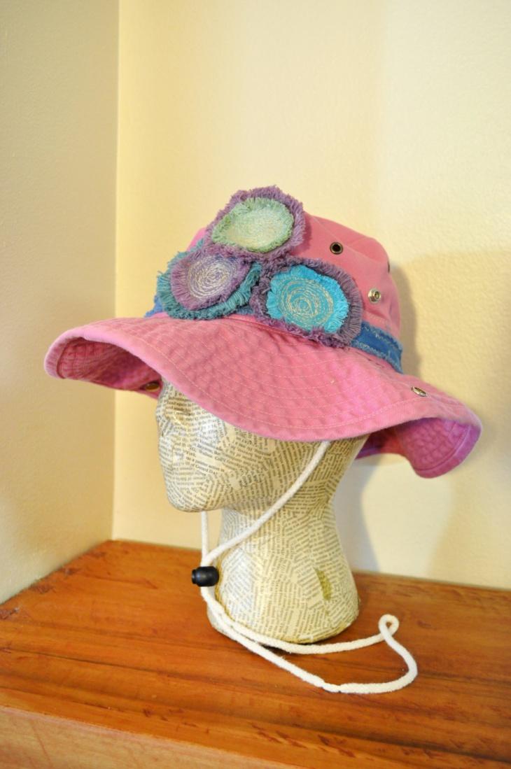 Fringe Bucket Hat Design