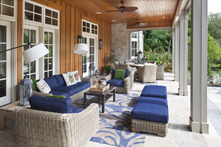 Country Cottage Front Porch