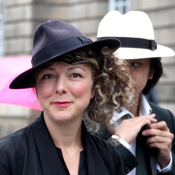 vintage fringe hat