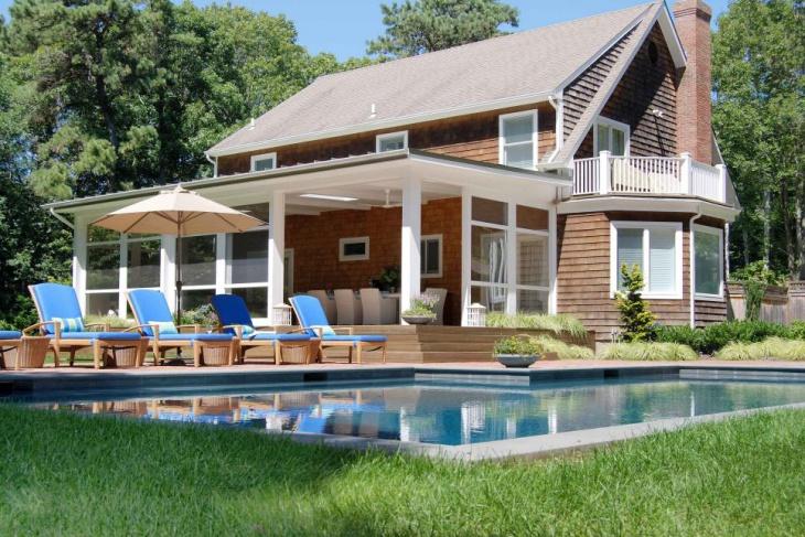 Pool Side Cottage Porch