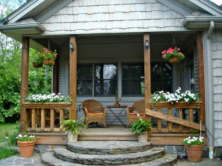 Decorative Cottage Porch - Get Small House Front Design Pictures  Gif