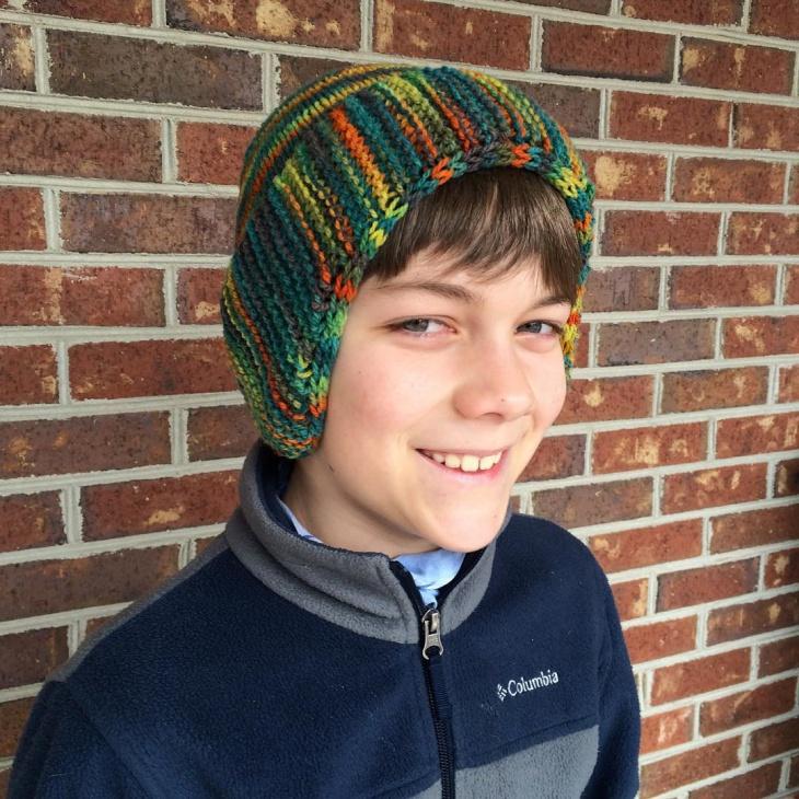 Handmade Fringe Hat