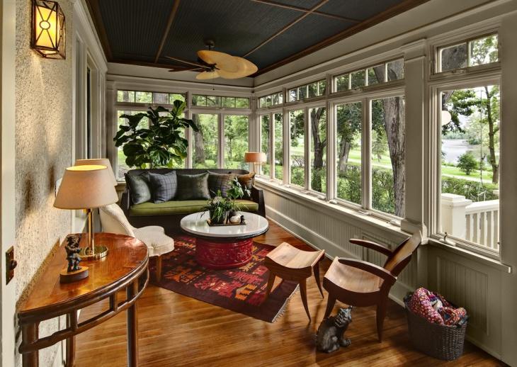 Private Cottage Porch Design