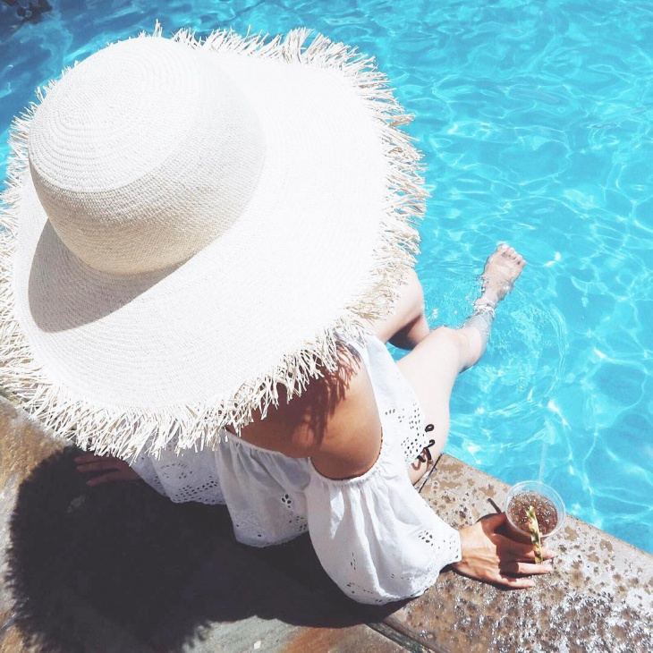 beautiful fring hat