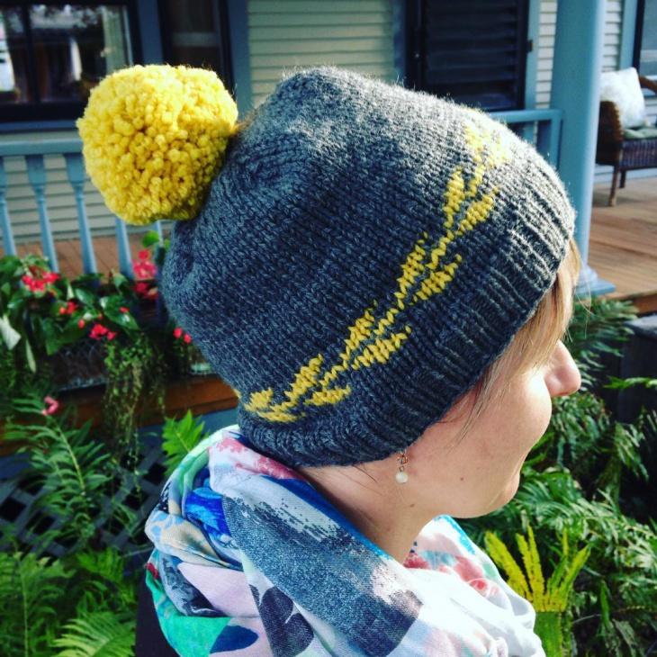 Embroidary Fringe Hat