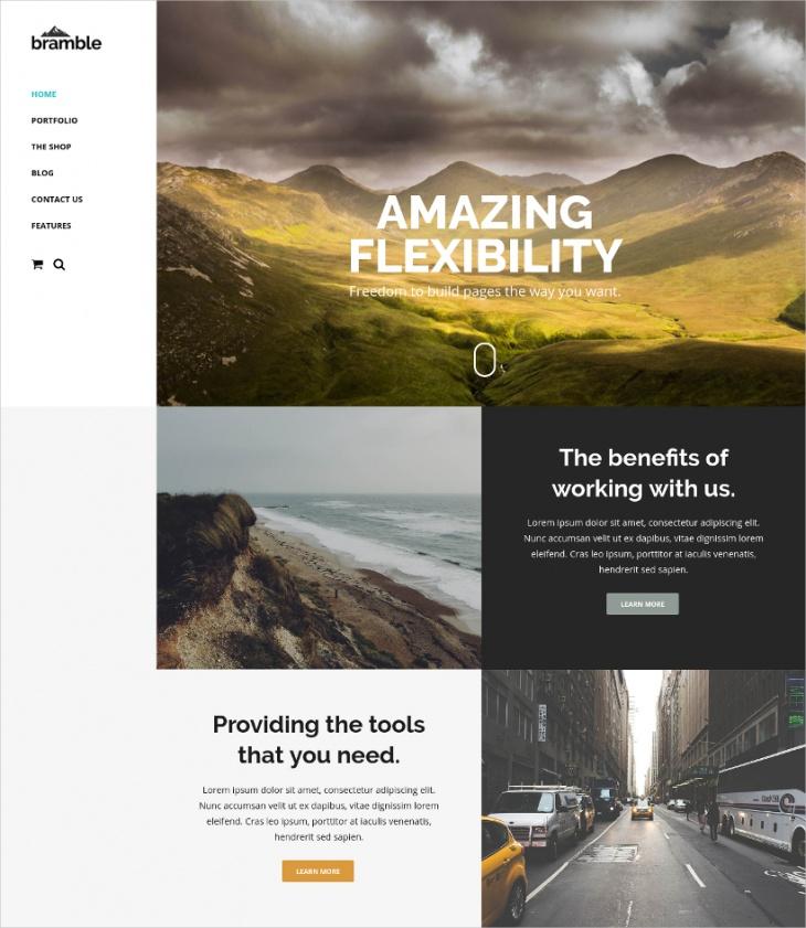 Multi-Purpose Professional WordPress Theme