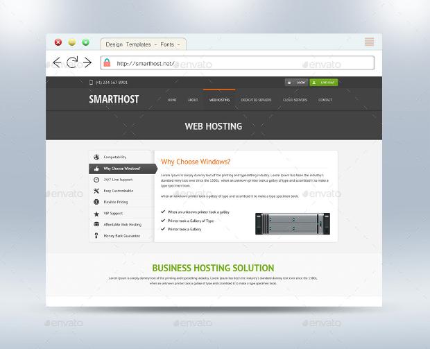 New Web Browser Mockup