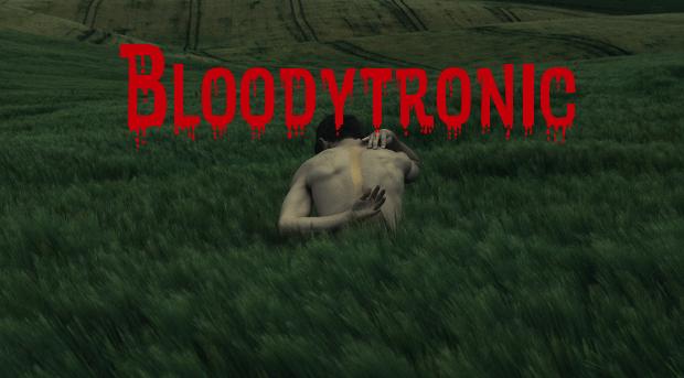 bloodytronic font