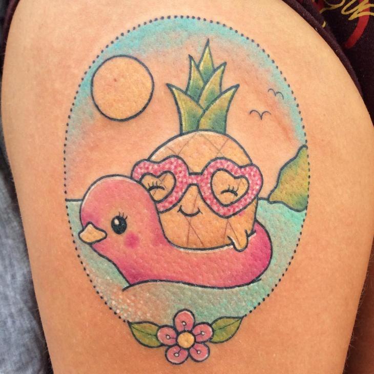 Rubber Duck Tattoo