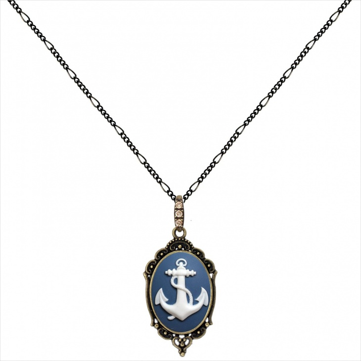Antique Anchor Pendant