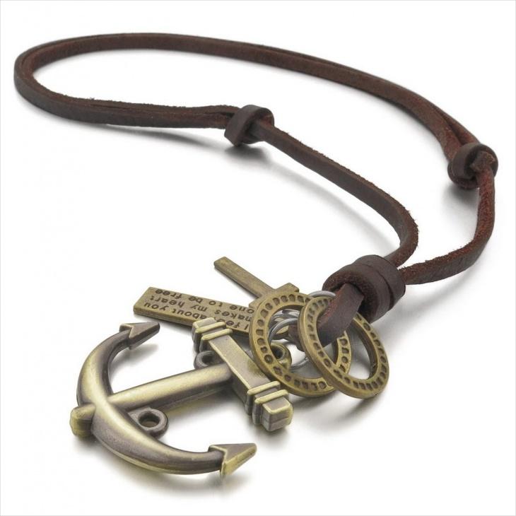 Handmade Anchor Pendant