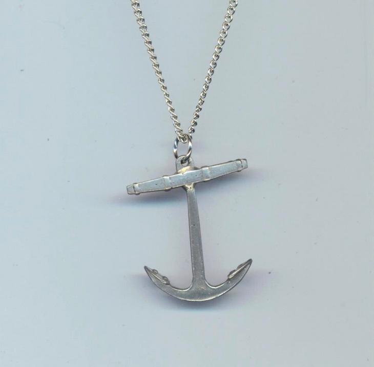 Vintage Anchor Pendant