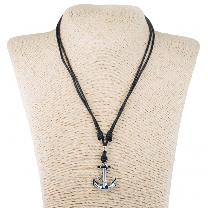 Mens Anchor Pendant