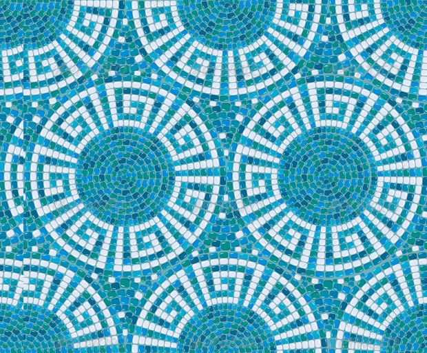 Seamless Mosaic Pattern Design