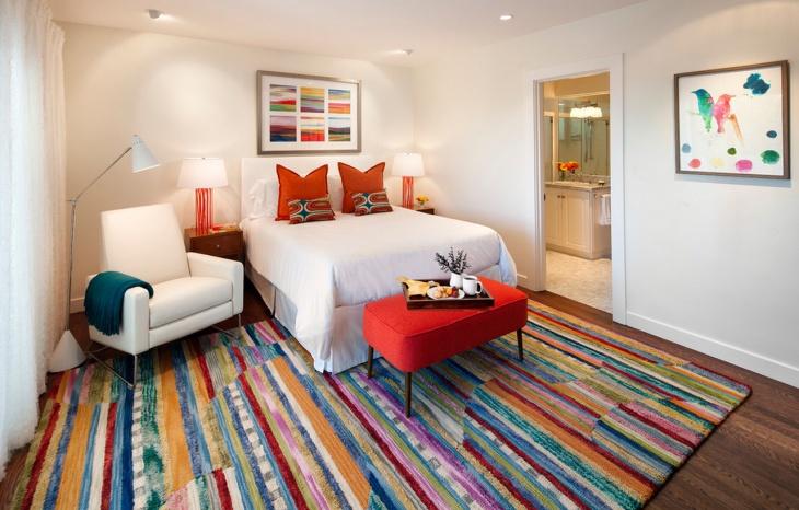 colorful bedroom idea