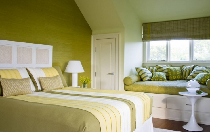 Monochromatic Colorful Variation Bedroom