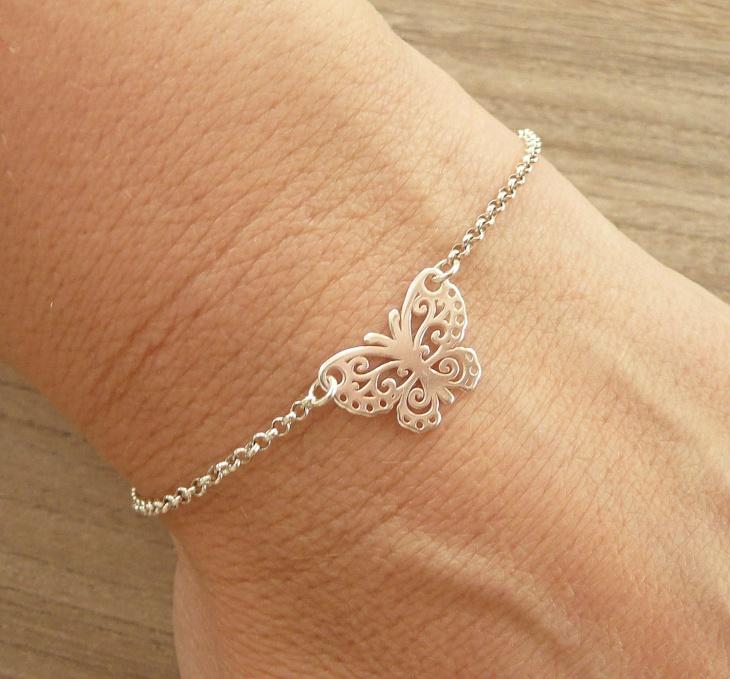 sterling silver butterfly jewelry