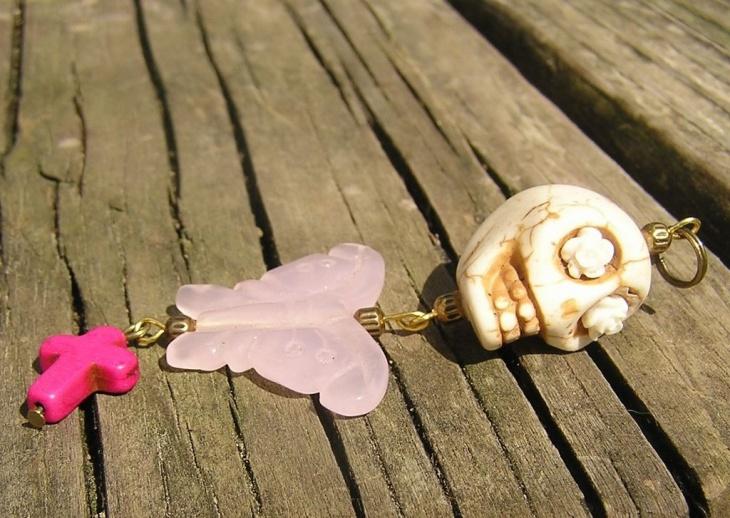 dead butterfly jewelry design
