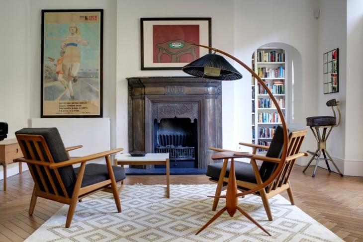 victorian vintage floor lamp