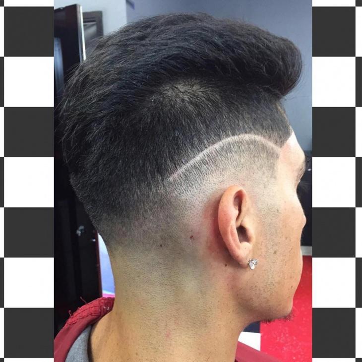 long low fade haircut