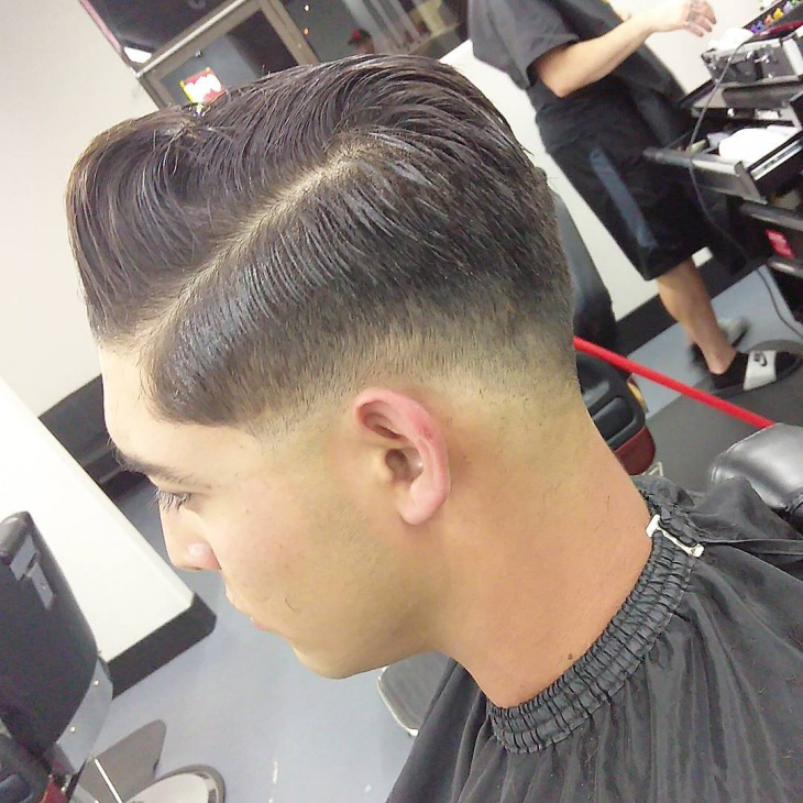 Low Fade Haircut for Teenagers
