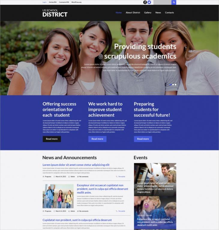 Learning & Education WordPress Theme