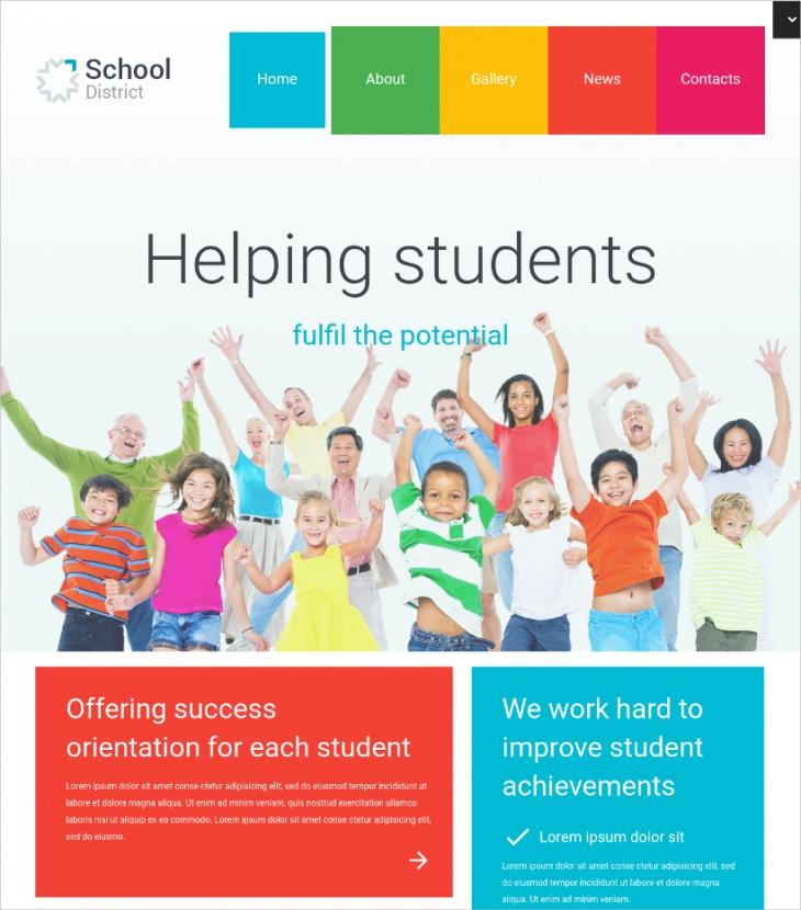 Wordpress School Theme