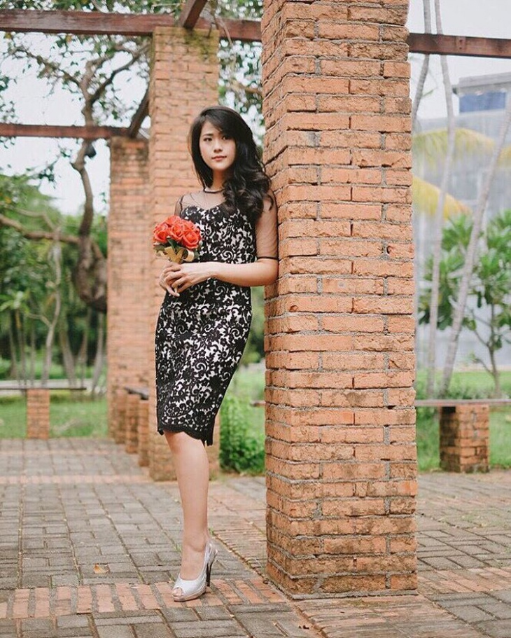 jacquard lace dress design