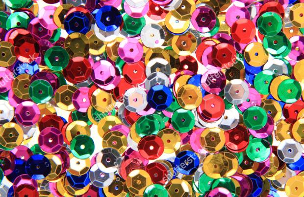 metal confetti texture