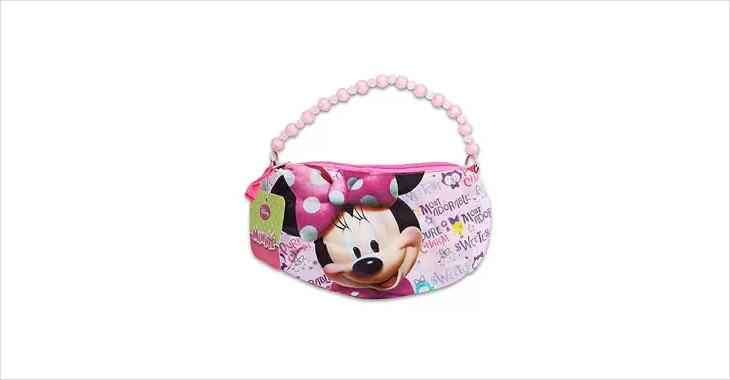 beaded disney handbag