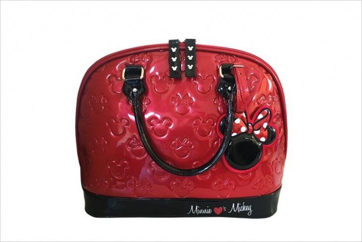 Leather Disney Handbag